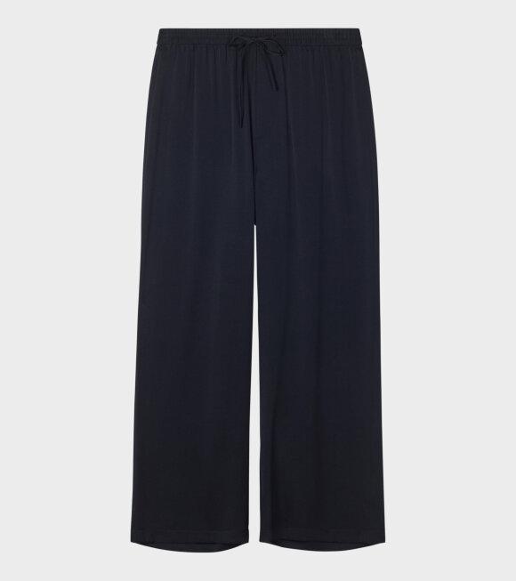 Filippa K - Silk Trouser Black