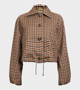 Baum und Pferdgarten - Blair Jacket Nougat Check