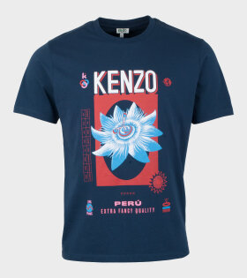 Kenzo - Kenzo Rice Bag Slim T-shirt Navy