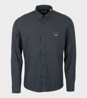Kenzo Button Down Urban Slim Fit Shirt Grey