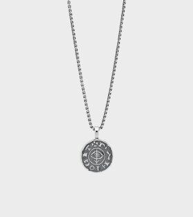 Viking Coin Pendant Silver