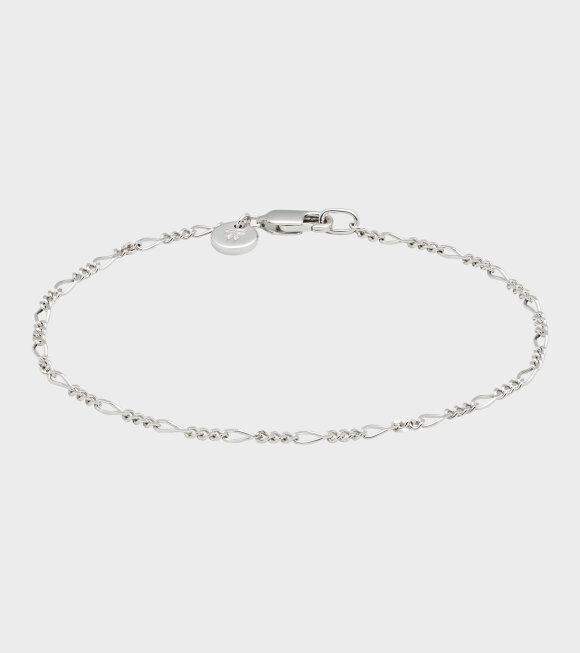 Tom Wood - Figaro Bracelet Silver