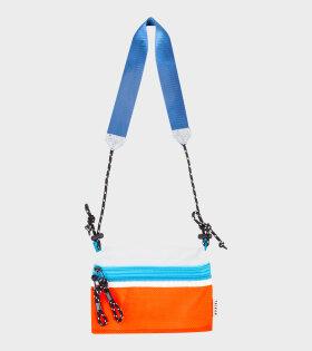 Sacoche Small Orange/Blue/White