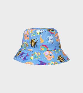 Hat Blue Sea Blue