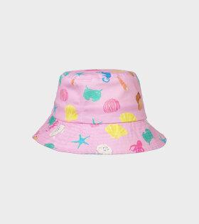 Hat Pink Sea Pink