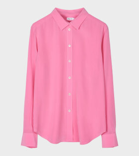 Classic Silk Shirt Pink