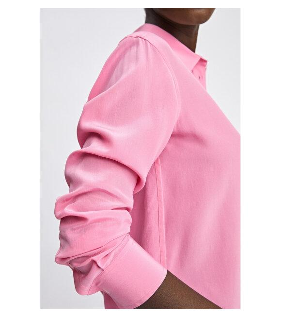 Filippa K - Classic Silk Shirt Pink