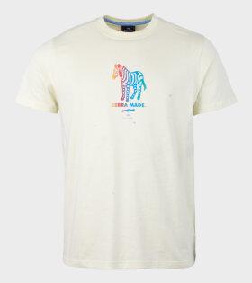 Paul Smith Zebra Made T-shirt Yellow