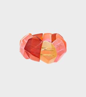 Monies - Clara Bracelet Multi Coloured Resin