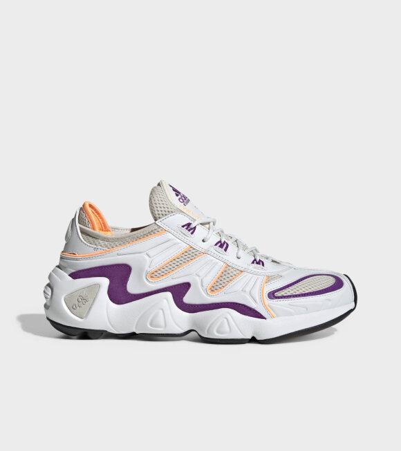 Adidas  - FYW S-97 White/Orange/Purple