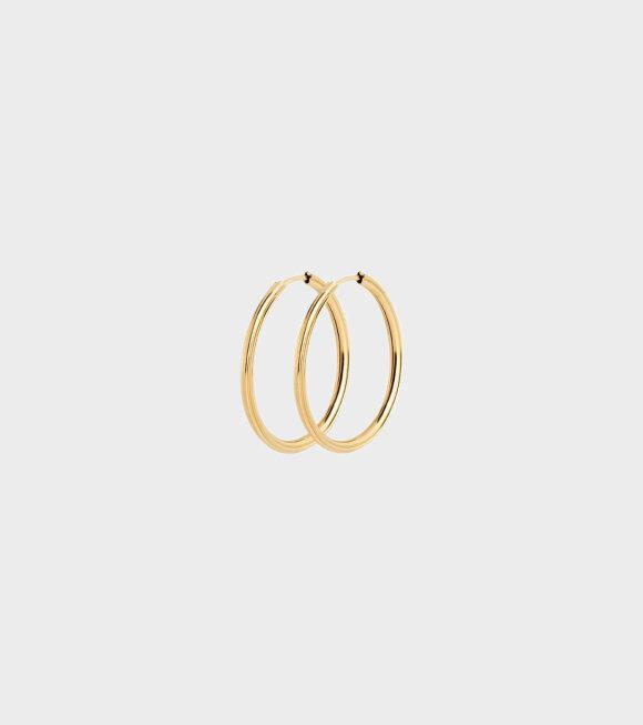 Maria Black - Sunset Hoop Earrings 25 Gold
