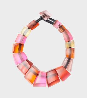Monies - Asta Necklace Multi Coloured Resin