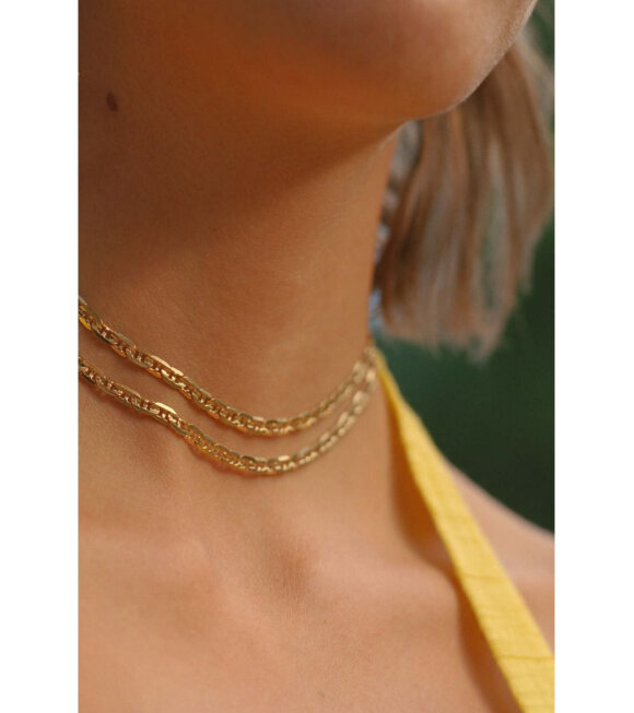 Maria Black - Carlo Necklace 43 Gold