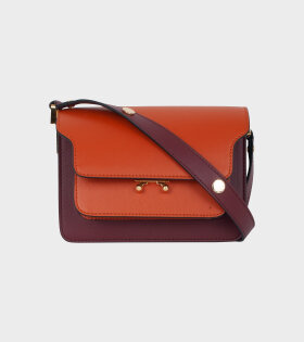 Mini Trunk Bag Brown/Bordeaux