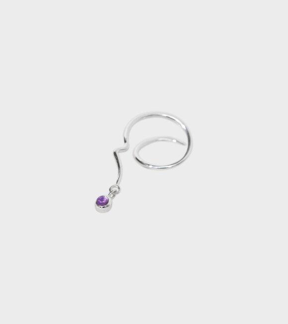 Trine Tuxen - Bobby Spiral Earring Right Silver