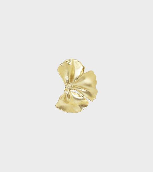 Trine Tuxen - Penelope Earring Left Gold