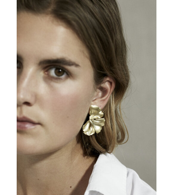 Trine Tuxen - Penelope Earring Right Gold