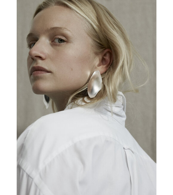 Trine Tuxen - Ophelia Earring Right Silver