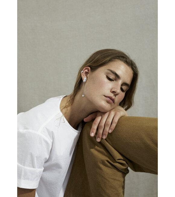 Trine Tuxen - Paloma Earring Left Silver