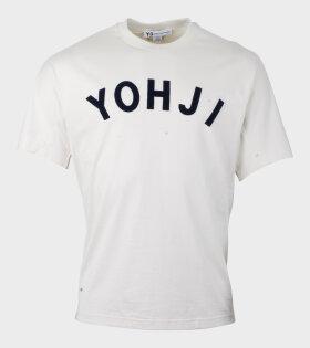 Y-3 U Yohji SS Tee Off-White - dr. Adams