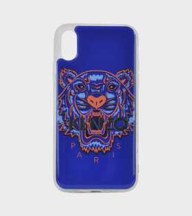 Tiger iPhone X Case Blue
