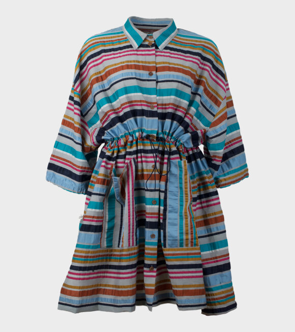 Henrik Vibskov - Dusty Dress Multi Stripe