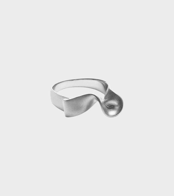 Trine Tuxen - Ribbon Ring II Silver