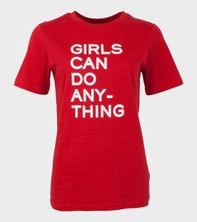 Bella Girls T-shirt Red