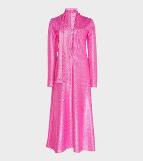 Yasmin Dress Pink Shimmer