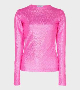 Saya Blouse Pink Shimmer
