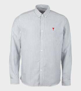 De Coeur Shirt Grey/White