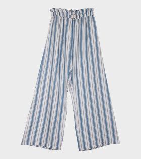 Libra Wide Leg Trousers Striped