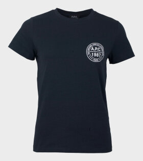 Tess T-shirt Navy