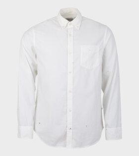 NN07 Levon Shirt White - dr. Adams