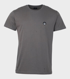 Borken Thur Badge T-shirt Grey