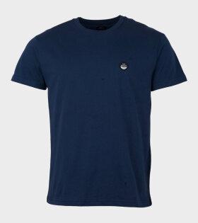 Borken Thur Badge T-shirt Navy