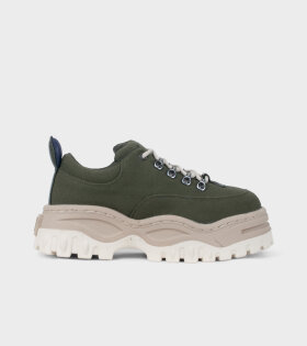 Eytys Angel Sneakers Canvas Olive Green - dr. Adams