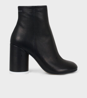 MM6 Maison Margiela Ankle Boot Black Leather - dr. Adams