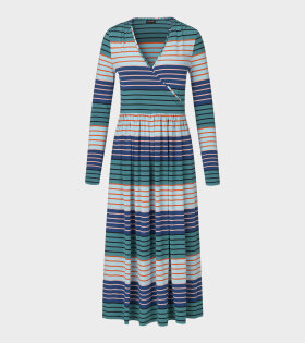 Alina Dress Stripes Multi