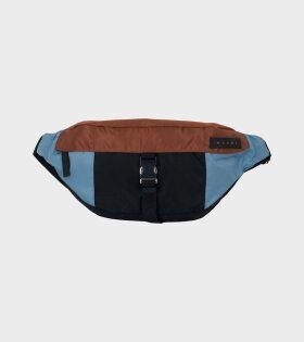 Bum Bag Blue/Brown/Black