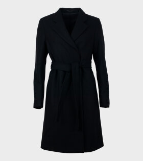 Filippa K Eden Coat Black - dr. Adams