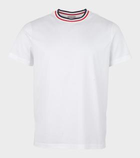 Moncler Maglia Neckline T-Shirt White - dr. Adams