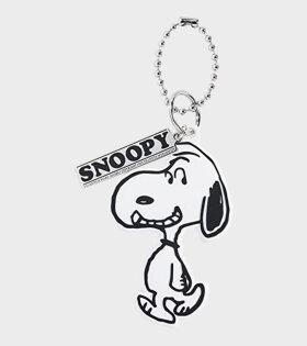 Peanuts x Marc Jacobs Snoopy Bag Charm White
