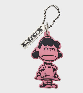 Peanuts x Marc Jacobs Lucy Bag Charm Pink