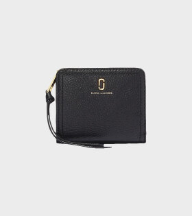 Marc Jacobs - Mini Compact Wallet Black