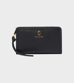 Compact Wallet Black