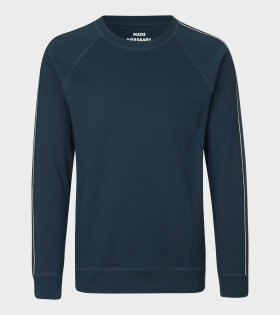 Stelt Tape Sweatshirt Blue