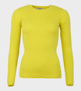 Kaptine Zip Knit Yellow