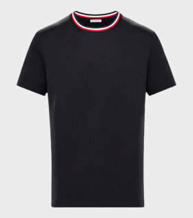 Moncler Maglia T-shirt Black - dr. Adams