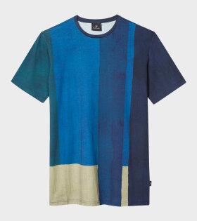 Paul Smith Mens Reg Fit T-Shirt Blue - dr. Adams